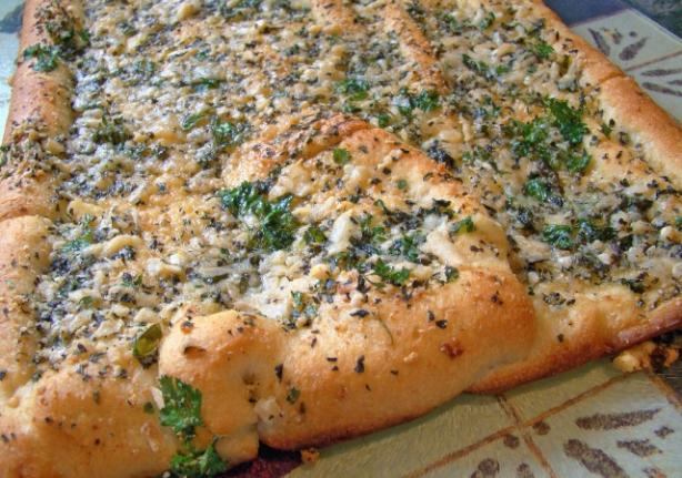 Tex's BBQ Herb and Garlic Bread