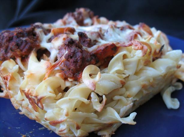 Beef 'n Noodle Casserole