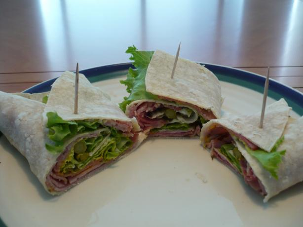 Gluten-Free Rolled Ham Sandwiches