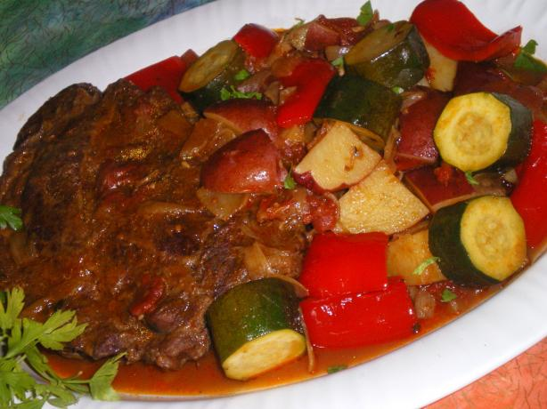 Mediterranean Pot Roast