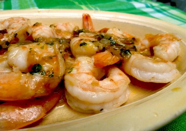 Camarones Borrachos (Drunken Shrimp)