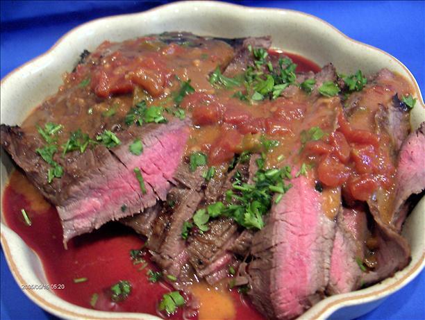 Spicy Flank Steak