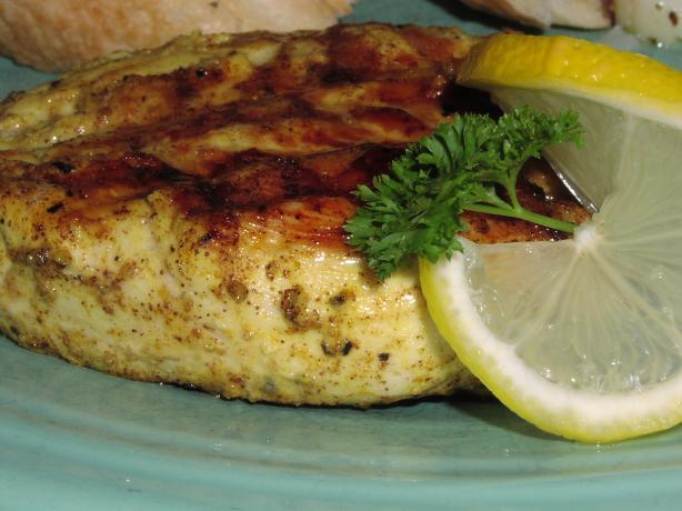 Grilled Persian Chicken Breasts