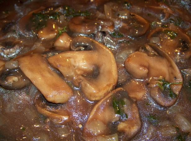 Jim's Easy Mushroom Sauce for Steak