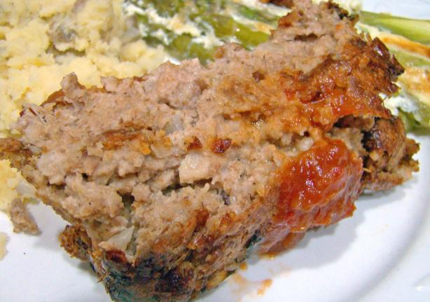 Easy Meatloaf With Shredded Wheat
