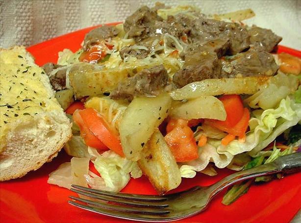 Steak 'n' Fries Salad