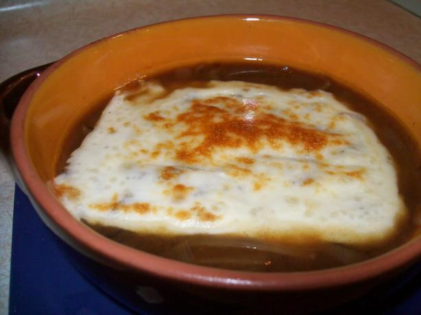 Guilt-Free Onion Soup (Crock Pot)