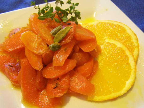 Carrots Glazed With Cumin and Orange
