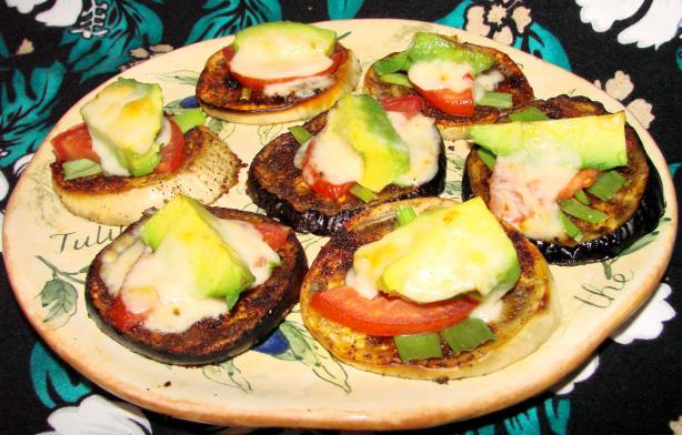 Tex-Mex Eggplant Melts