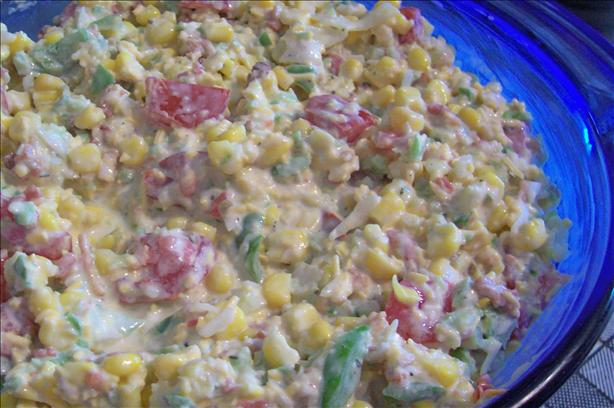 Bacon Ranch Corn Salad