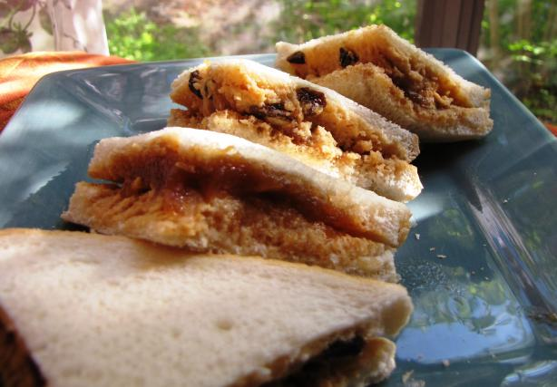 Peanut-Apple Butter Sandwich