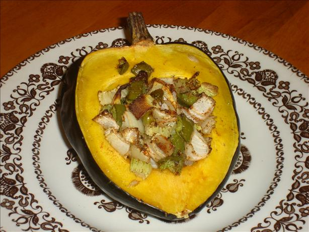 Roasted Juicy Acorn Squash
