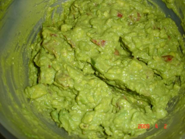 Betty Crocker's Southwestern Guacamole Dip