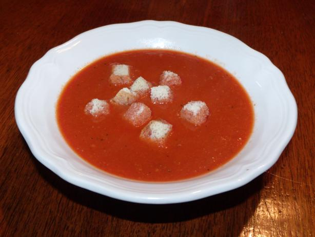 Kittencal's Thick and Rich Creamy Tomato Soup (Low-Fat Option)