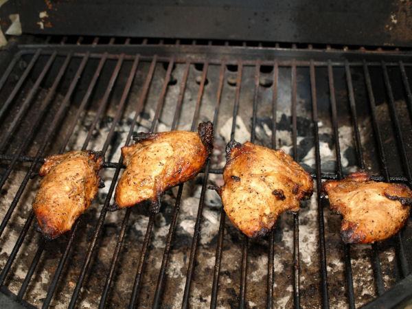 Grilled Margarita Chicken Breasts