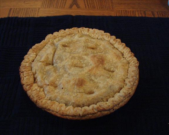 Turkey Pot Pie and Gravy