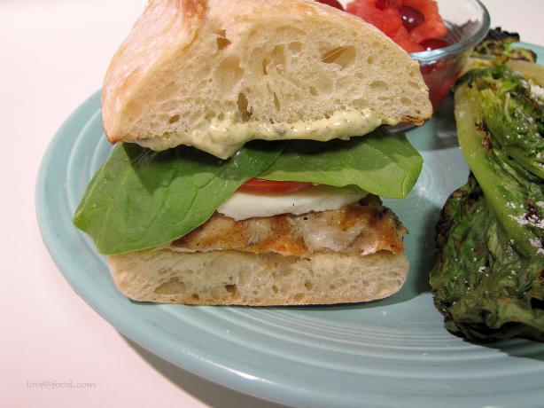 Tuscan-Style Grilled Chicken Sandwich