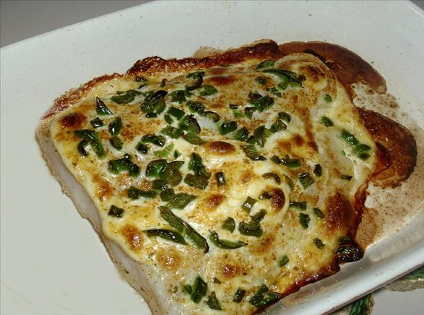 Baked Halibut With Jalapenos
