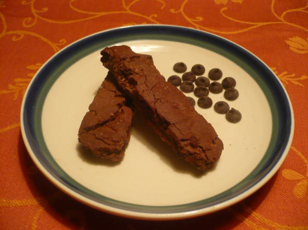 Gluten-Free Double Chocolate Biscotti
