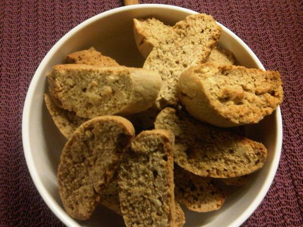 Spicy Ginger/nut Biscotti #2