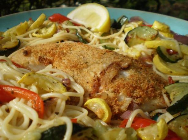 Parmesan Crusted Tilapia (Olive Garden Copycat)