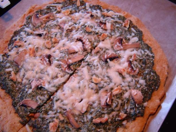 Creamy Pizza Sauce and Topping