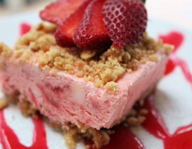 Frosty Strawberry Dessert