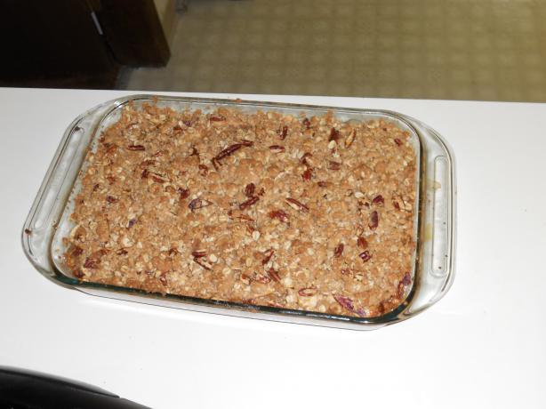 Kittencal's Apple Crisp Dessert
