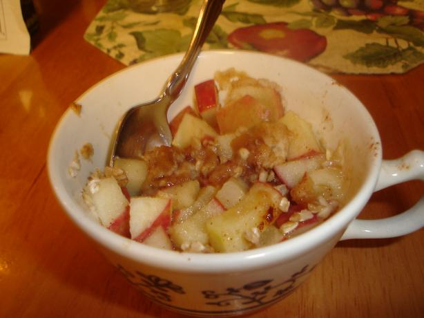 7-Ingredient 5-Minute Apple Dessert