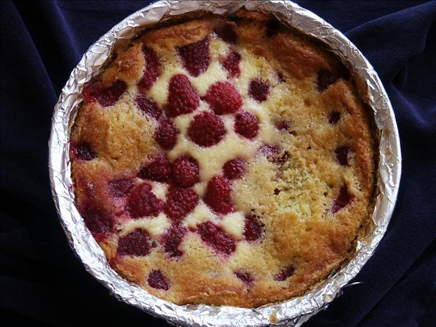 Raspberry Creme Fraiche Tart