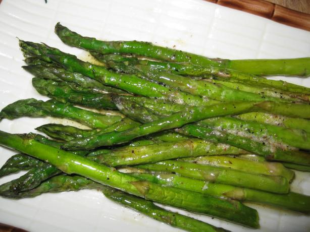 Asparagus With Nutmeg Butter