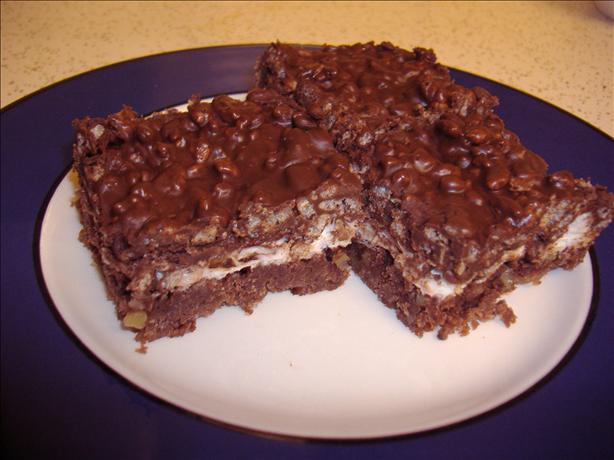 Chocolate Marshmallow Squares