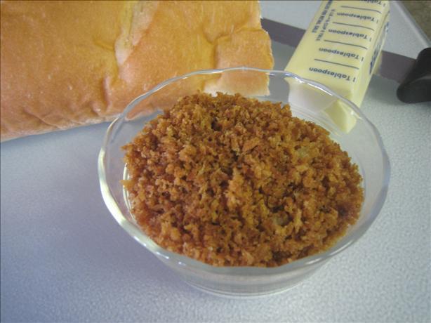 Quick Bread Crumbs for Casseroles