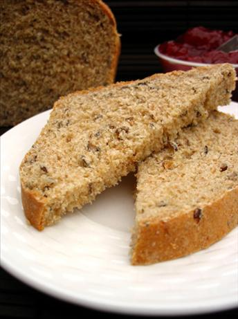 Wild Rice and Oat Bran Bread (With Bread Machine Directions)