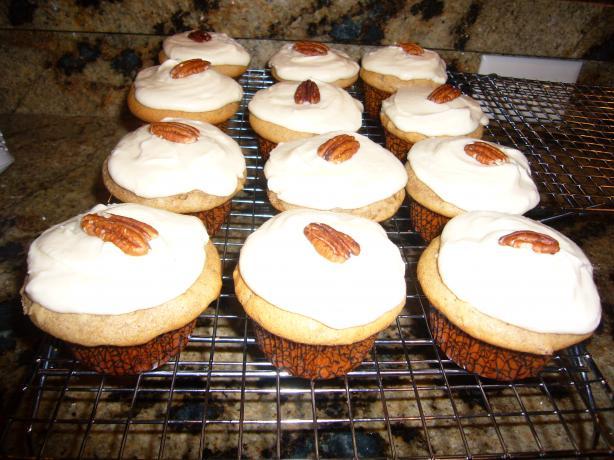Vermont Maple Spice Cupcakes