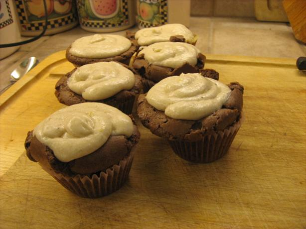 Chocolate Chai Spice Cupcakes