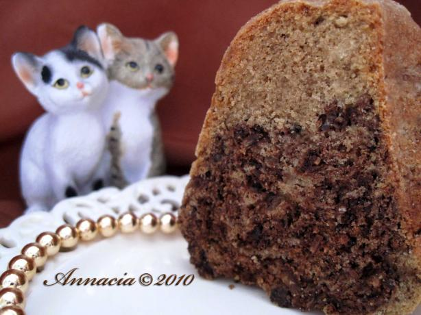 Coconut Mocha Cake