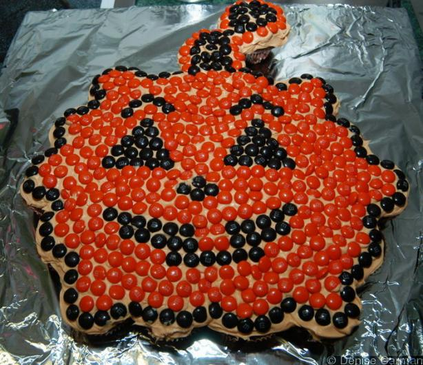 Pumpkin Cupcakes Cake