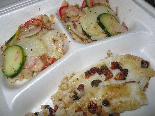 Bacon Scholle Potato Salad - Speck-Scholle zu Kartoffelsalat
