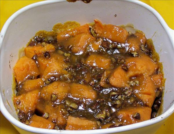 Apricot-Glazed Sweet Potato Bake