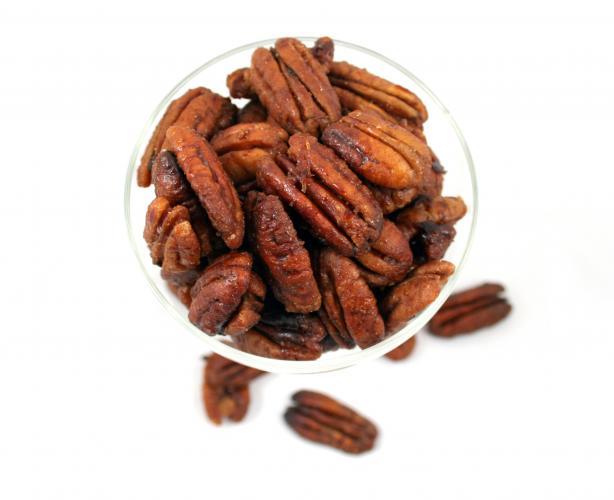 Spiced Vanilla Pecans