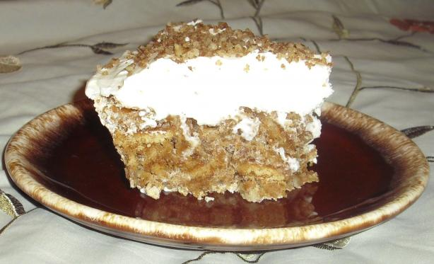 Luby's Cafeteria Butternut Brownie Pie