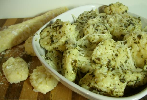 Simply Potato Gnocchi With Pesto and Parmesan #5FIX