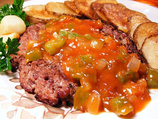 Jazzy Grill Burgers With Beer Sauce