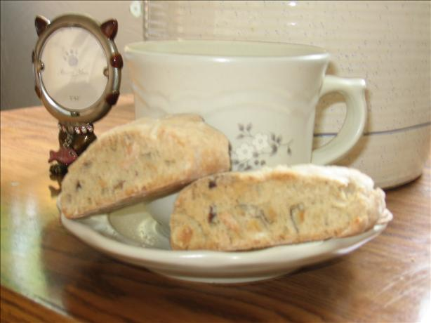 Low-Fat Hazelnut Cappuccino Biscotti