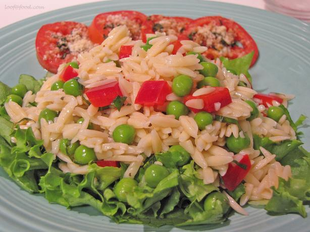 Orzo and Vegetable Salad