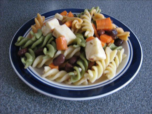 Zesty Italian Pasta Bean Salad