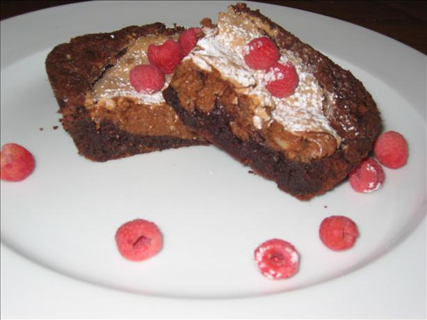Raspberry Silk Brownies