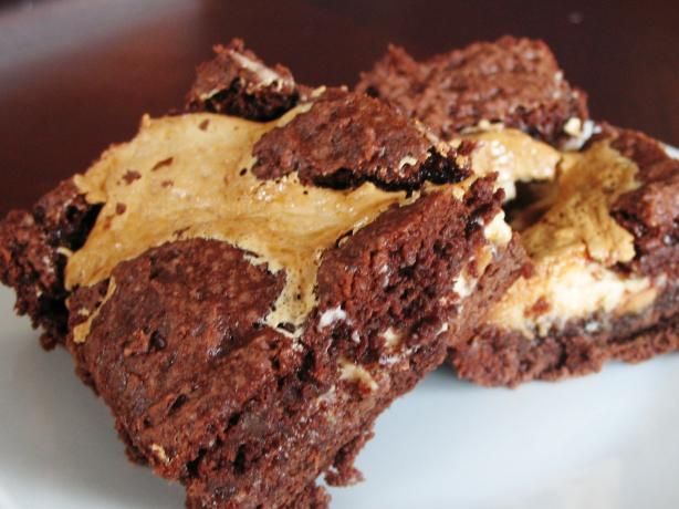 Ooey-Gooey Peanut Butter-Chocolate Brownies