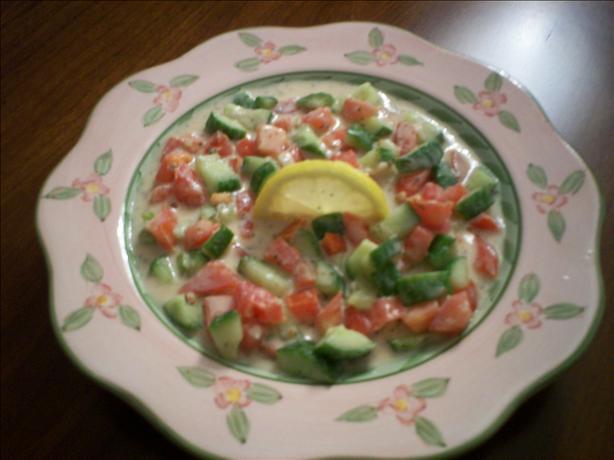 Salata Tahini--Middle Eastern Tahini Salad